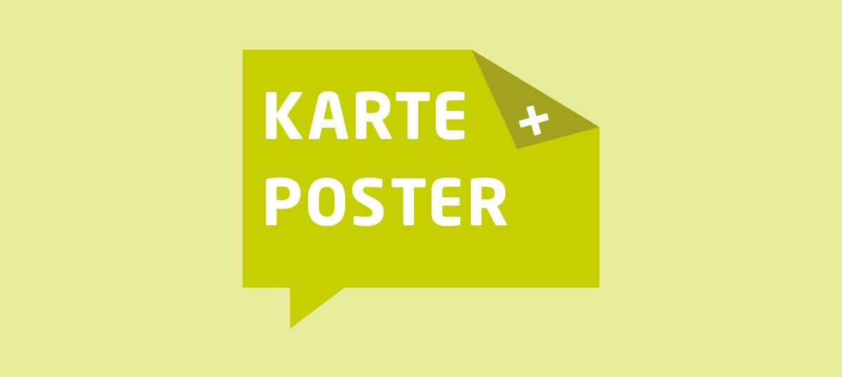 """Onlineshop, """"Karte und Poster"""""""