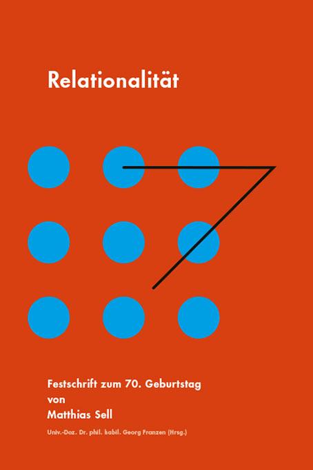 """Buchgestaltung, Festschrift """"Rationalität"""" zum 70. Geburtstag von Matthias Sell, INITA Institut, 2018"""