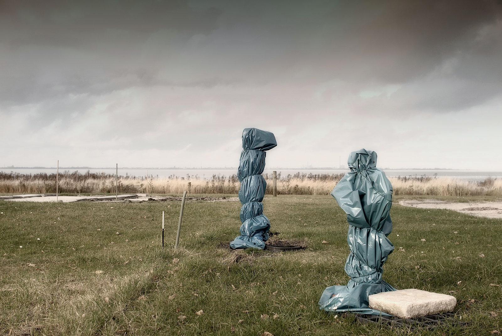 "Fotoserie ""Campingplatz Dangast im Winter"", 2011"